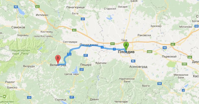 Taxi Transfer Plovdiv To Velingrad Price Unitrans Be Private